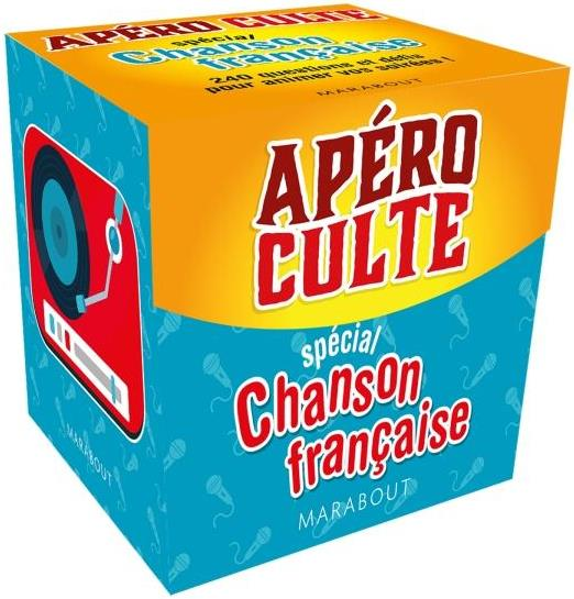 APERO CULTE  -  SPECIAL CHANSON FRANCAISE XXX MARABOUT