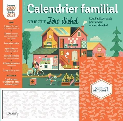 CALENDRIER FAMILIAL  -  OBJECTIF ZERO DECHET (EDITION 20202021)