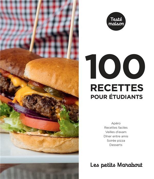 LES PETITS MARABOUT - 100 RECETTES POUR ETUDIANTS XXX MARABOUT