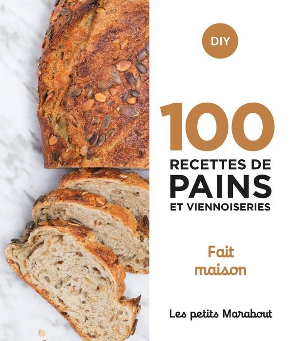 100 RECETTES DE PAINS ET VIENN COLLECTIF MARABOUT