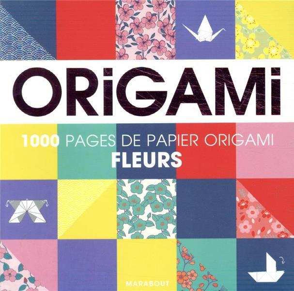 ORIGAMI  -  FLEURS XXX MARABOUT