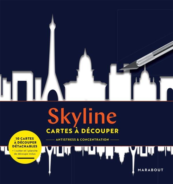 CARTES A DECOUPER  -  SKYLINE