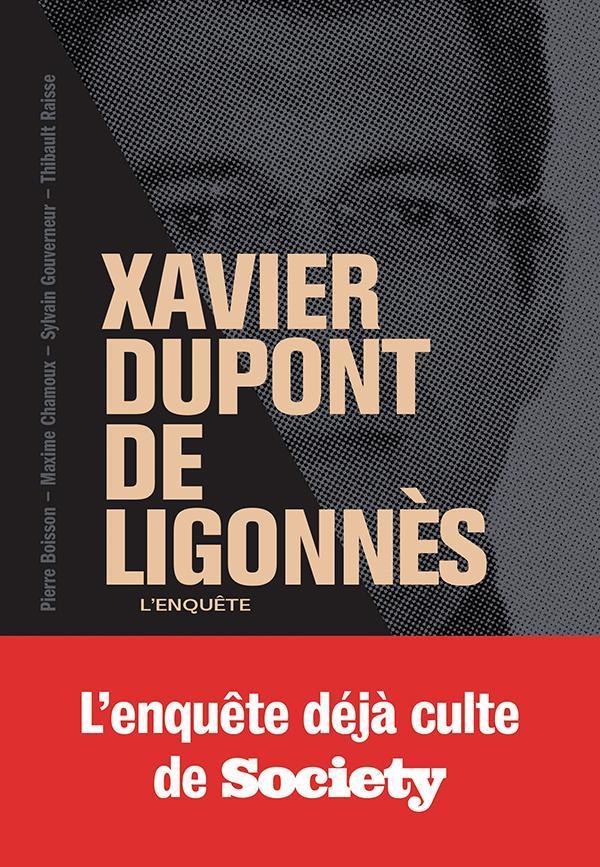 XAVIER DUPONT DE LIGONNES - LA GRANDE ENQUETE  COLLECTIF MARABOUT