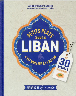 PETITS PLATS COMME AU LIBAN MAGNIER MORENO M. MARABOUT