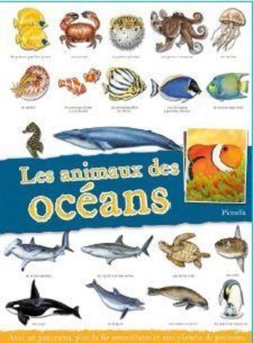 LES ANIMAUX DES OCEANS COLLECTIF PICCOLIA