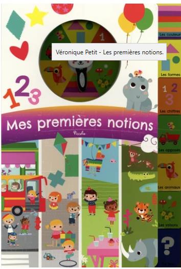 MES PREMIERES NOTIONS