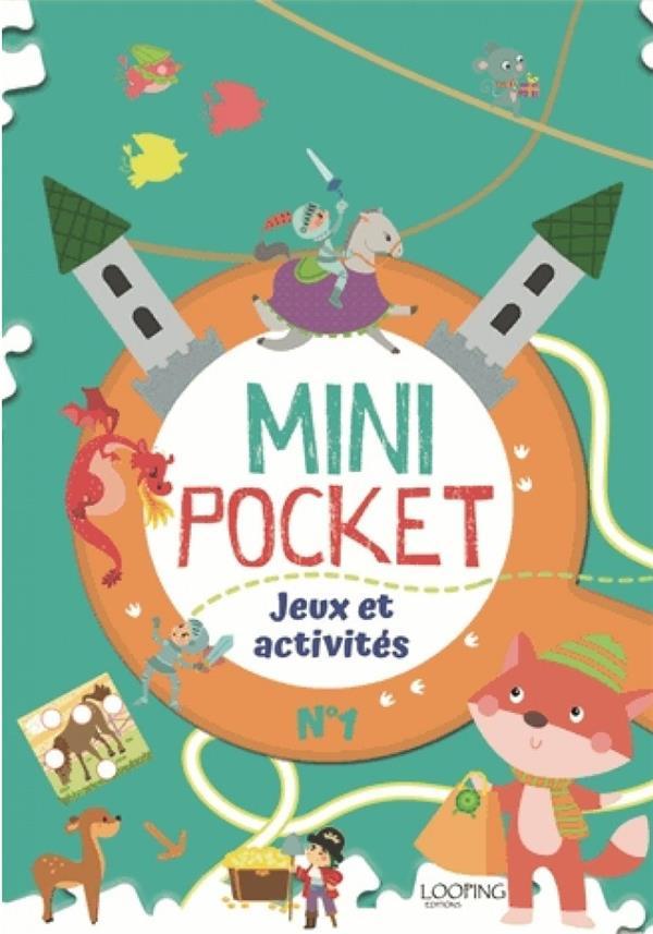 MINI POCKET T.1  -  JEUX ET ACTIVITES