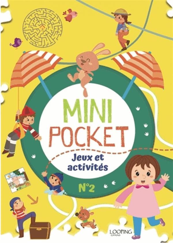 MINI POCKET T.2  -  JEUX ET ACTIVITES