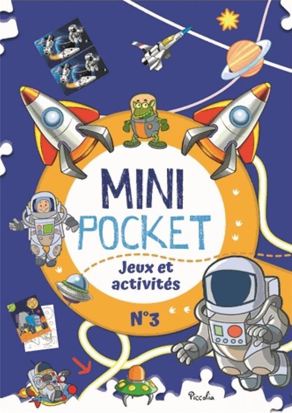 MINI POCKET T.3  -  JEUX ET ACTIVITES