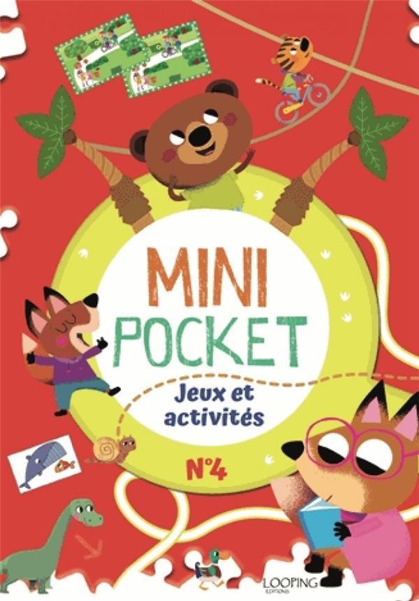 MINI POCKET T.4  -  JEUX ET ACTIVITES