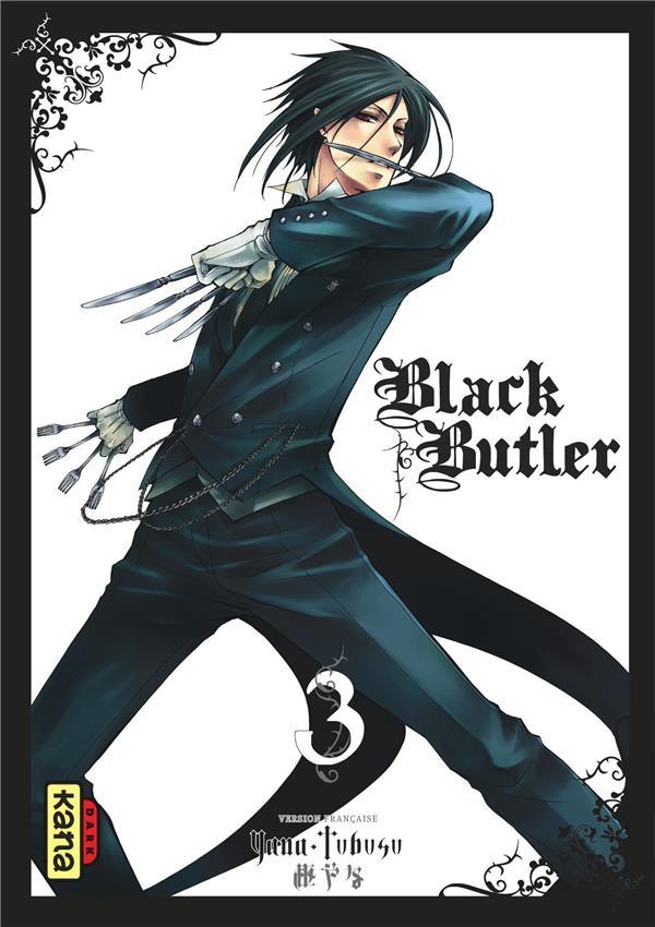 BLACK BUTLER T.3 TOBOSO, YANA DARGAUD