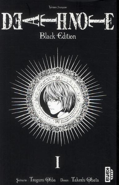 DEATH NOTE BLACK EDITION T1 OHBA/OBATA DARGAUD