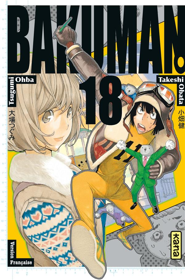 Bakuman Vol.18 Ohba Tsugumi Kana