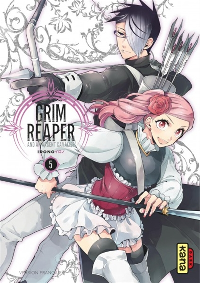 THE GRIM REAPER AND AN ARGENT CAVALIER, TOME 5 IRONO DARGAUD