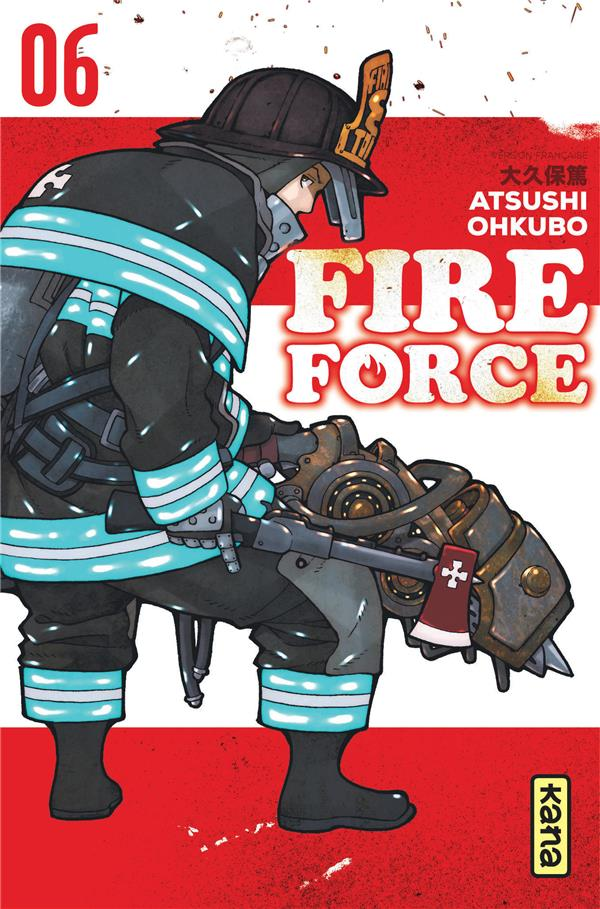 FIRE FORCE T.6 OHKUBO, ATSUSHI DARGAUD