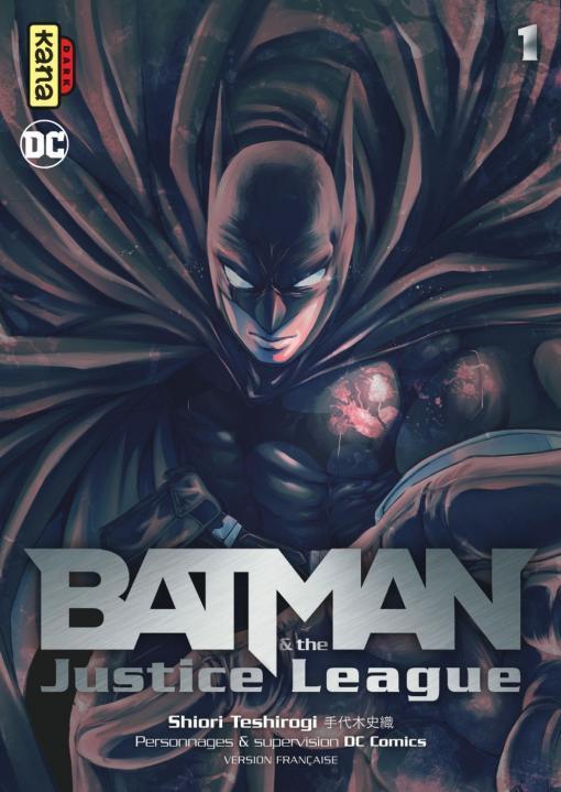 Batman et the Justice League Vol.1 TESHIROGI SHIORI Kana