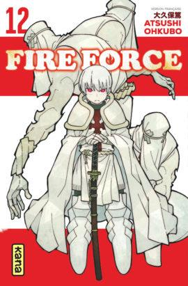 FIRE FORCE, TOME 12 ATSUSHI OKUBO DARGAUD