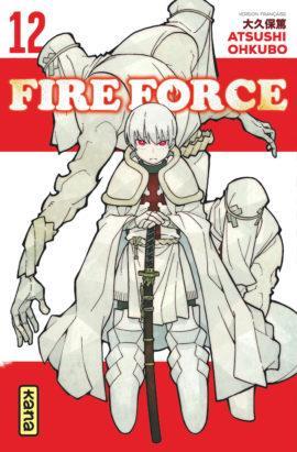 FIRE FORCE T.12 ATSUSHI OKUBO DARGAUD