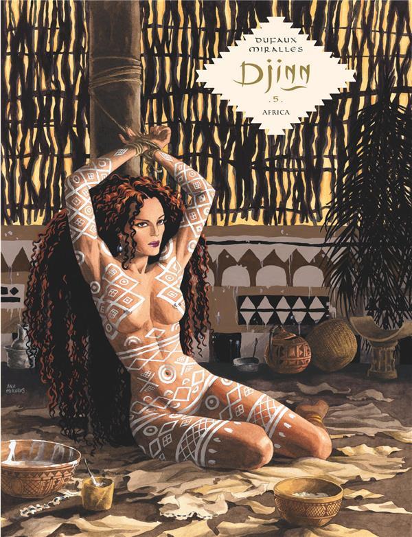 DJINN - TOME 5 - AFRICA / EDIT DUFAUX JEAN DARGAUD
