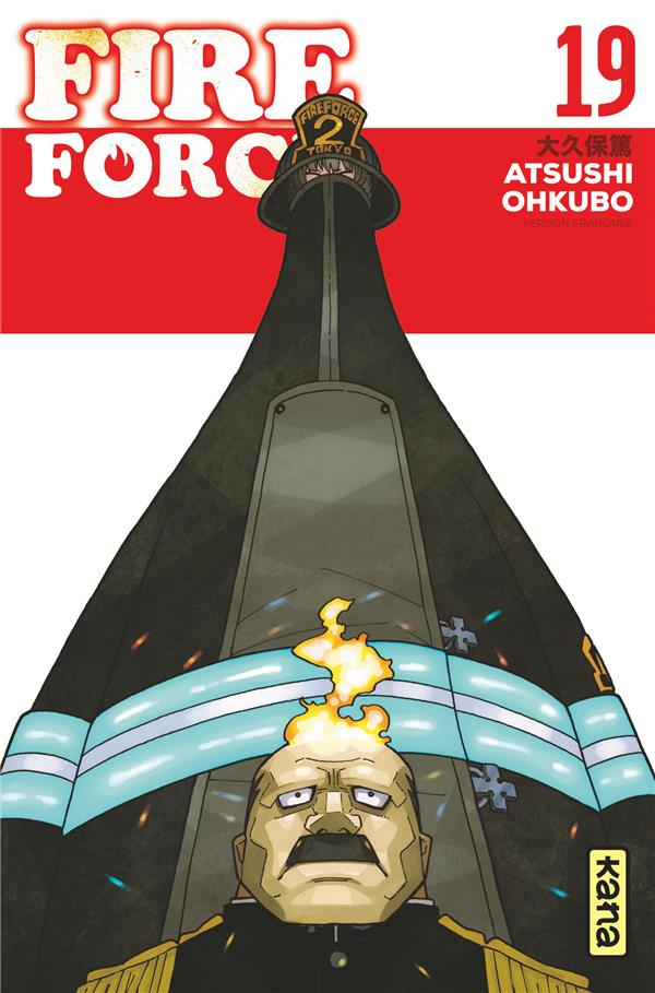 FIRE FORCE T.19 ATSUSHI OKUBO DARGAUD