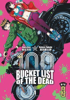 BUCKET LIST OF THE DEAD T.1 ASO, HARO  DARGAUD