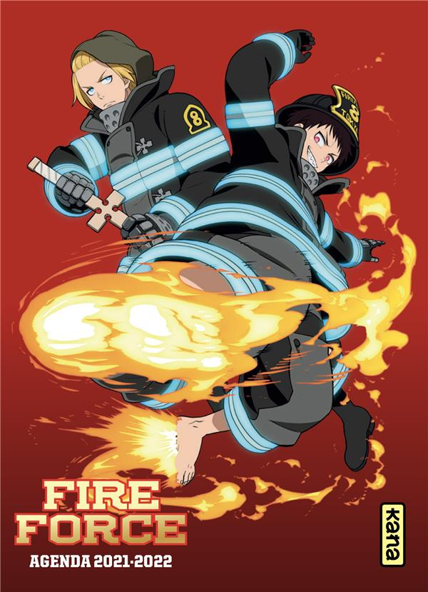FIRE FORCE  -  AGENDA (EDITION 20212022) XXX NC