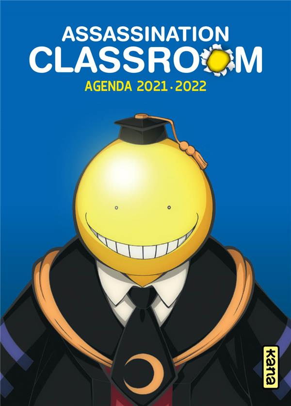 ASSASSINATION CLASSROOM  -  AGENDA (EDITION 20212022) XXX NC