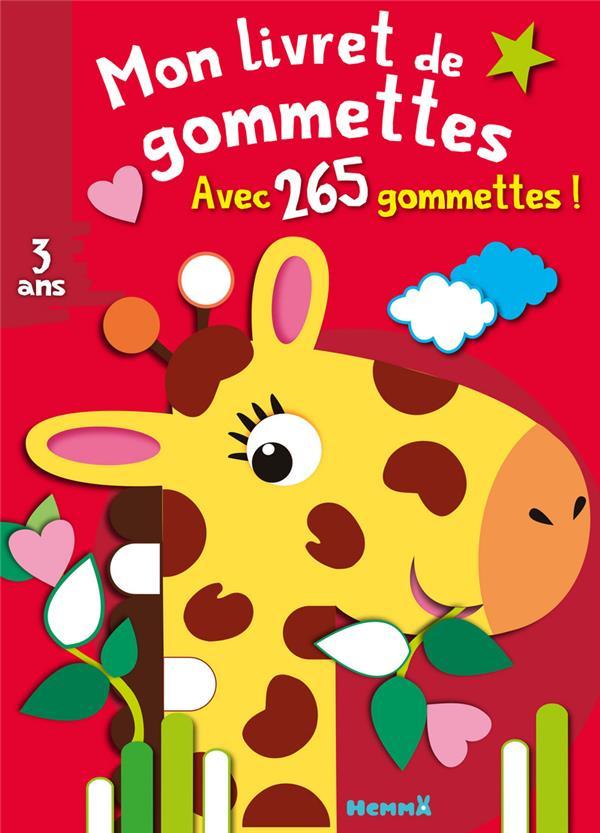 MON LIVRET DE GOMMETTES (GIRAF PIETTE NADINE HEMMA