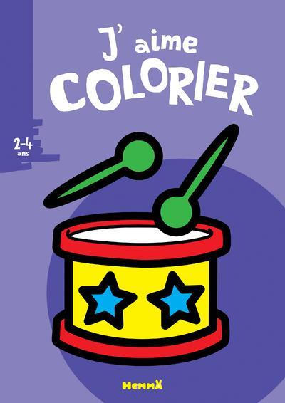 J'AIME COLORIER  -  TAMBOUR  -  24 ANS