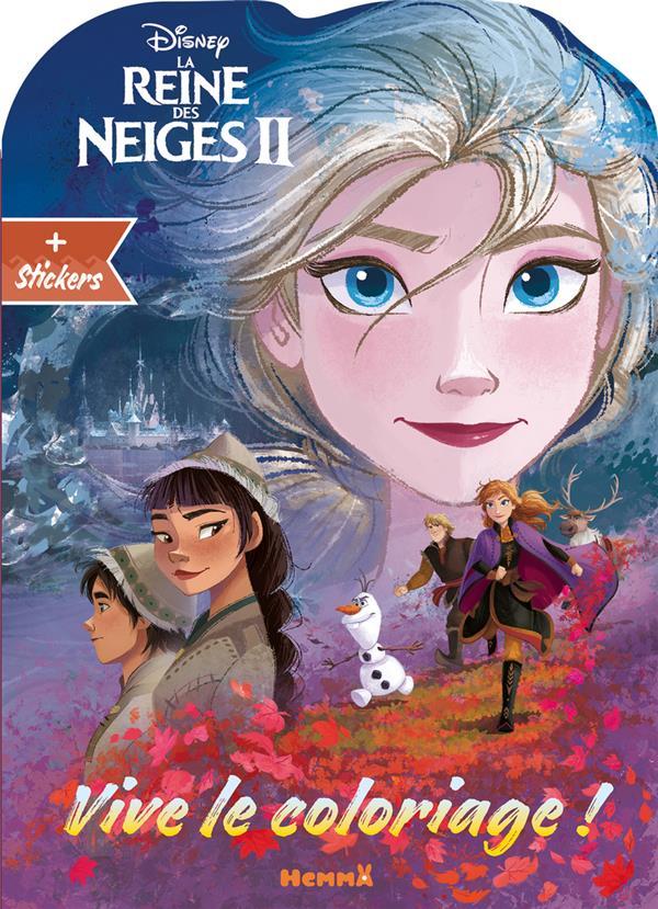 VIVE LE COLORIAGE !  -  LA REINE DES NEIGES 2  -  ELSA