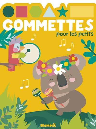 GOMMETTES POUR LES PETITS  -  KOALA MUSIQUE