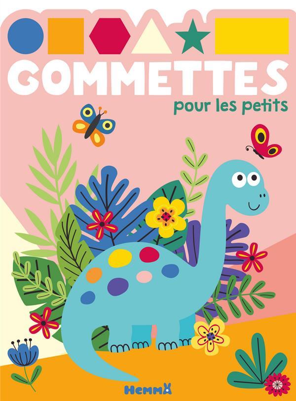 GOMMETTES POUR LES PETITS  -  DINOSAURE BLEU