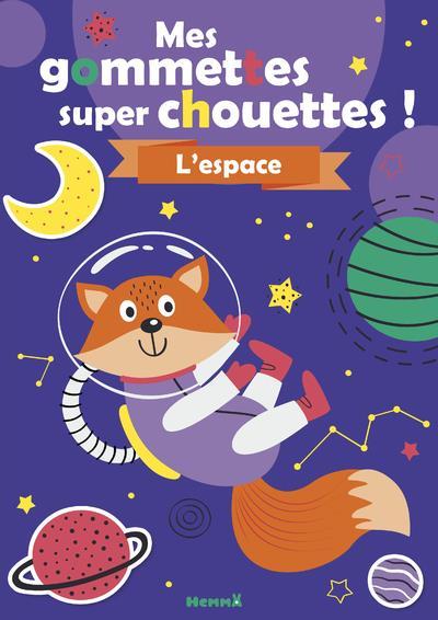 MES GOMMETTES SUPER CHOUETTES  -  L'ESPACE COLLECTIF HEMMA