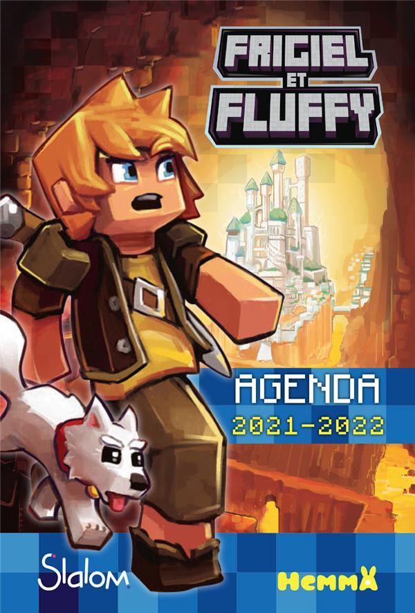 FRIGIEL ET FLUFFY  -  AGENDA (EDITION 20212022) COLLECTIF NC