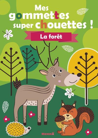 MES GOMMETTES SUPER CHOUETTES  -  LA FORET