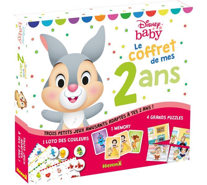 DISNEY BABY - LE COFFRET DE MES 2 ANS (PANPAN) DISNEY NC