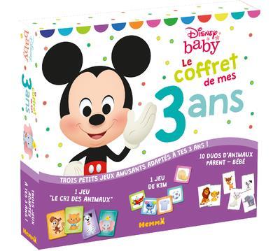 DISNEY BABY - LE COFFRET DE MES 3 ANS (MICKEY)  COLLECTIF NC