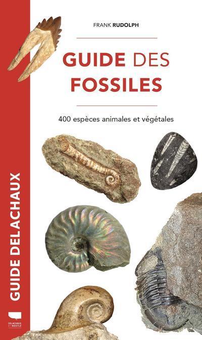 GUIDE DES FOSSILES  -  400 ESPECES FOSSILES VEGETALES ET ANIMALES RUDOLPH FRANK DELACHAUX