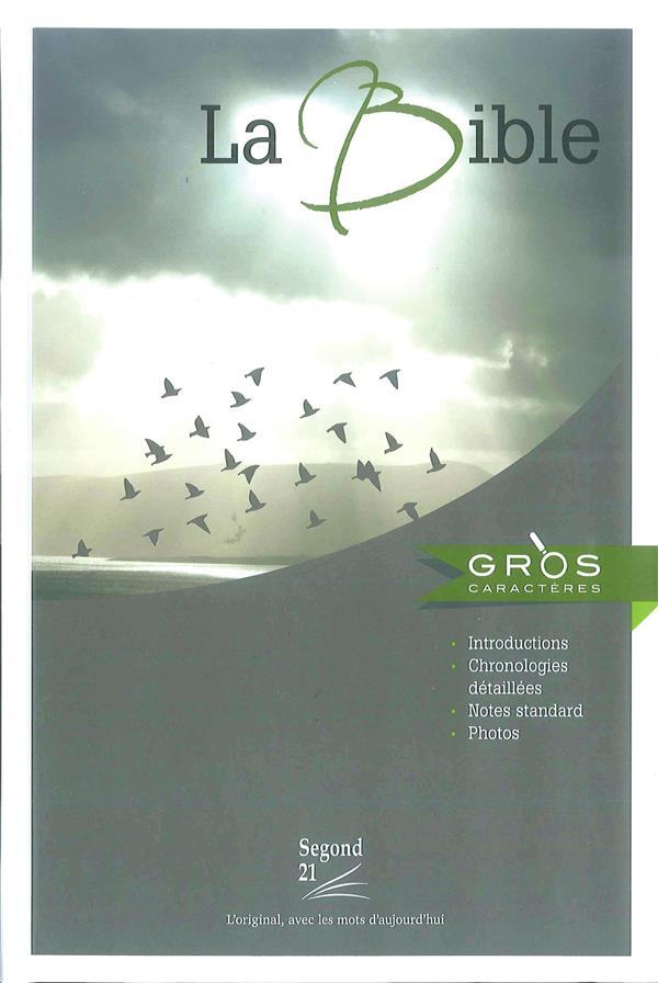 BIBLE A GROS CARACTERES SEGOND 21 AVEC REPE RES CHRONOLOGIQUES ET NOTES STANDARD, RIGID
