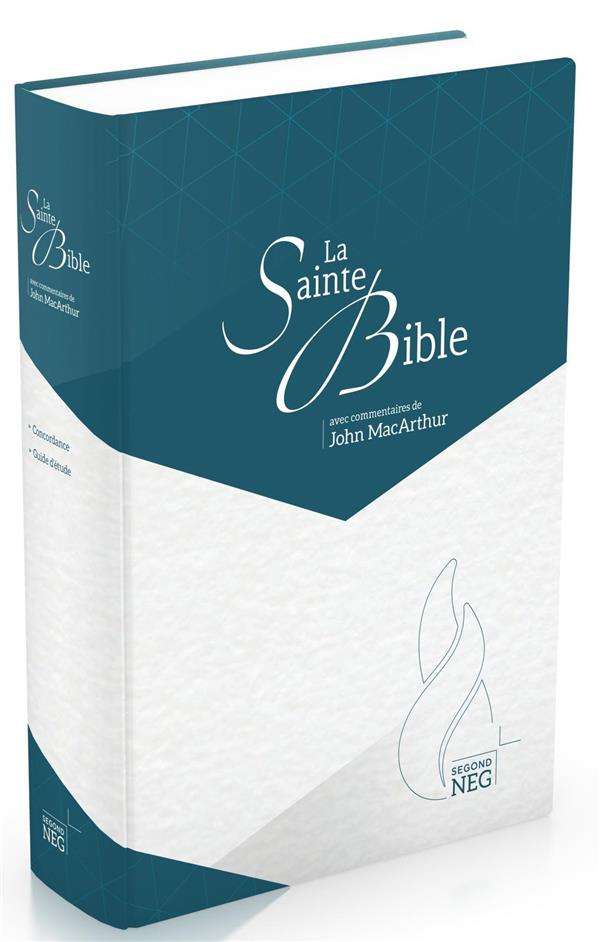 BIBLE D'ETUDE MACARTHUR  -  MODELE ILLUSTRE NC MAISON BIBLE