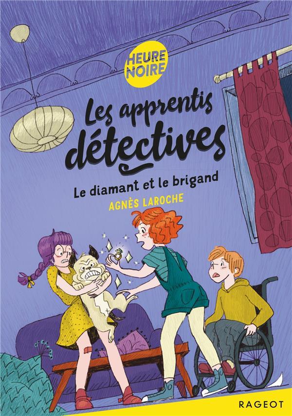 LES APPRENTIS DETECTIVES T.6  -  LE DIAMANT ET LE BRIGAND LAROCHE AGNES RAGEOT