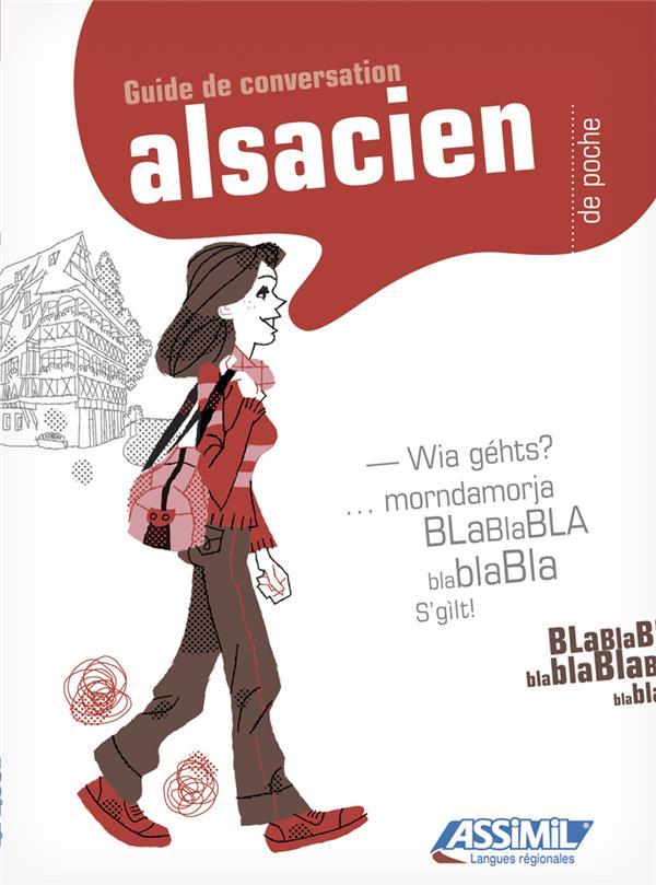 GUIDES DE CONVERSATION  -  ALSACIEN DE POCHE WEISS RAOUL ASSIMIL