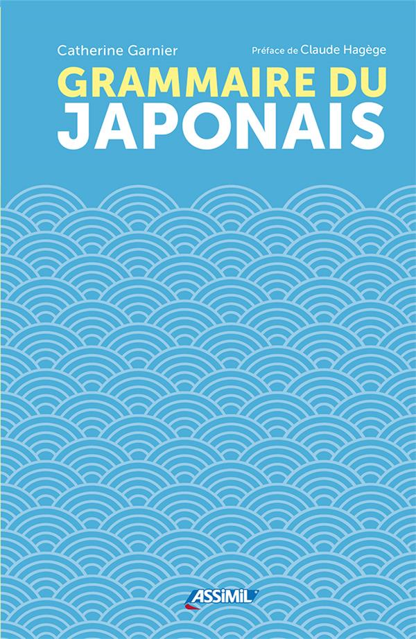 GRAMMAIRE DU JAPONAIS