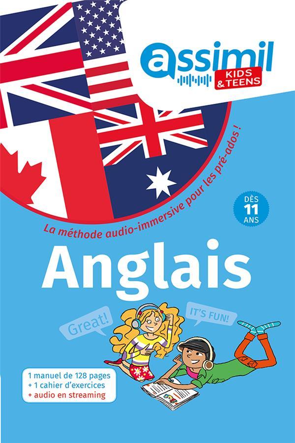 KIDS et TEENS - 100% ENGLISH  -  ANGLAIS MONNIER, NOLWENA ASSIMIL