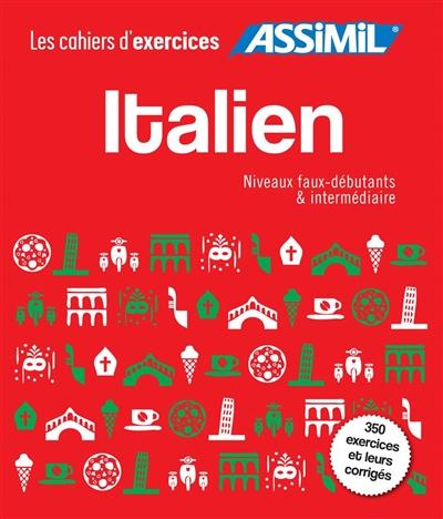 - COFFRET CAHIERS ITALIEN 1 + 2