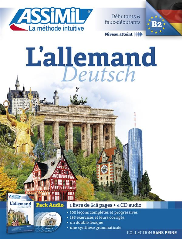 PACK CD ALLEMAND 2015 Roemer Maria Assimil