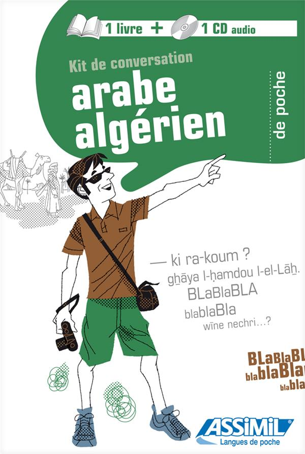 GUIDES DE CONVERSATION  -  ARABE ALGERIEN DE POCHE KRASA DANIEL ASSIMIL