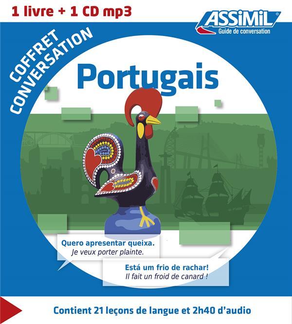 Coffret conversation portugais Portugais Portugais