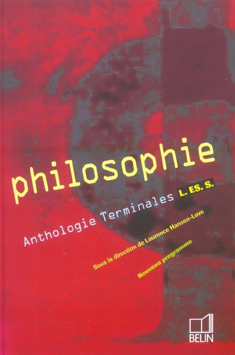 ANTHOLOGIE (EDITION 2004) HANSEN-LOVE/ZERNIC BELIN