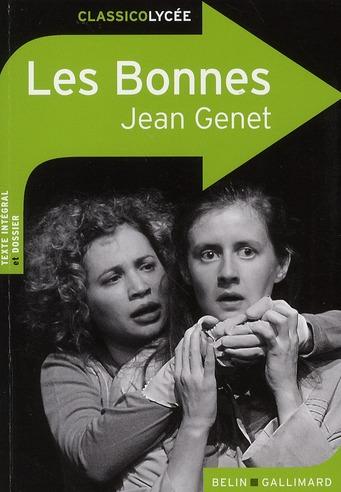 LES BONNES, DE JEAN GENET GENET JEAN BELIN